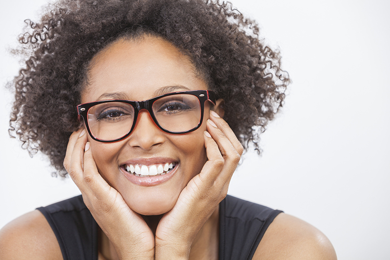 Woman Smiling with No Toothache