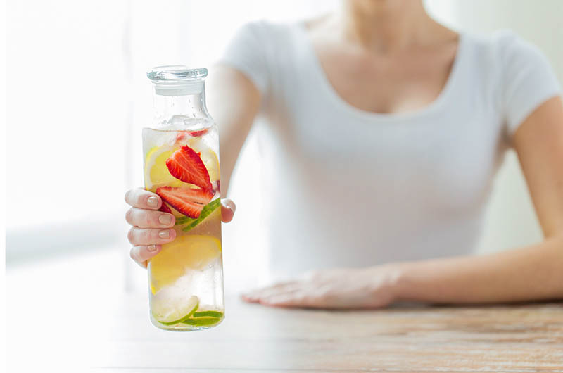 detox water can help cause tooth decay